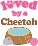 Loved By A Cheetoh Tshirt Gifts