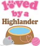 Loved By A Highlander Tshirt Gifts