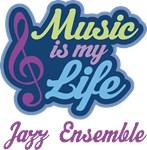 Jazz Ensemble Music Quote Tshirts