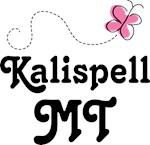 Kalispell Montana Butterfly T shirts