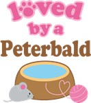 Loved By A Peterbald Tshirt Gifts
