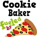 Cookie Baker Funny Fueled By Pizza Tshirts