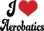 I Heart Aerobatics T-shirts and Gifts