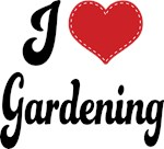 I Heart Gardening T-shirts and Gifts