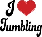 I Heart Tumbling T-shirts and Gifts