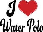 I Heart Water Polo T-shirts and Gifts
