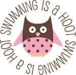SWIMMING IS A HOOT OWL TEES AND GIFTS