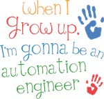 Future Automation Engineer Kids T-shirts
