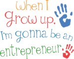 Future Entrepreneur Kids T-shirts