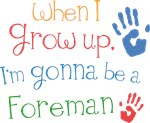 Future Foreman Kids T-shirts