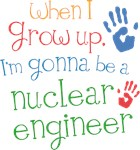 Future Nuclear Engineer Kids T-shirts