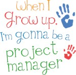 Future Project Manager Kids T-shirts