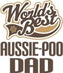 Aussie-Poo Dad (Worlds Best) T-shirts