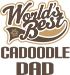 Cadoodle Dad (Worlds Best) T-shirts