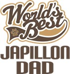 Japillon Dad (Worlds Best) T-shirts