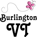Burlington Vermont Butterfly T-shirts and H