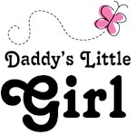 Daddy's Little Girl Cute Pink T-shirts