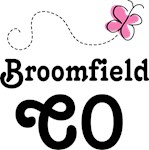 Broomfield Colorado Butterfly T-shirts and H