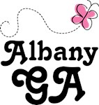 Albany Georgia Butterfly T-shirts and Hoodies
