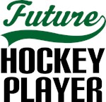 Future Hockey Player Kids T Shirts