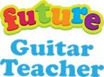 Future Guitar Teacher Kids Music T-shirts