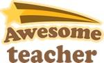 Awesome Teacher T Shirts and Mugs