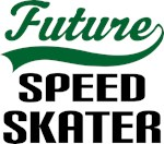 Future Speed Skater Kids T Shirts