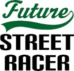 Future Street Racer Kids T Shirts