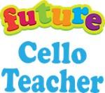 Future Cello Teacher Kids Music T-shirts