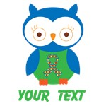 Personalized Autism Owl Gifts and Shirts