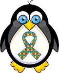 Autism Aspergers Penguin T Shirts