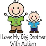 Autism big brother support T-shirts