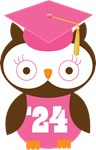Owl 2024 Class Grad Gifts and Shirts