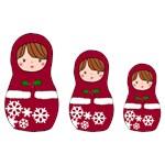 Matryoshka Christmas