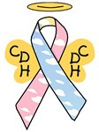 Kids Winged CDH Awareness Ribbon