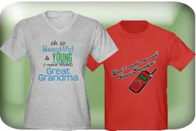 Great Grandma & Great Grandpa Gifts & T-Shirts