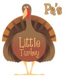 Pa's Little Turkey