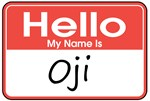 Hello, My name is Oji