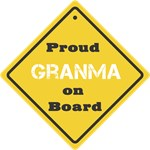 Proud Granma on Board