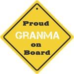 Proud Granma on Board