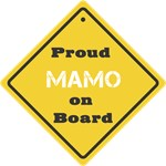 Proud Mamo on Board