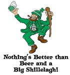 Beer and a big Shilelagh