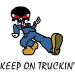Keep on Truckin t-shirts & Keep on Truckin Gifts!