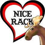Love Moose, Nice Rack T-Shirts & Gifts!