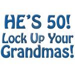 50th Birthday Gifts, Humorous, He's 50!