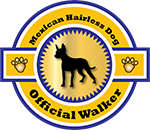 Mexican Hairless Dog Official Walker
