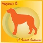 Scottish Deerhound Happiness