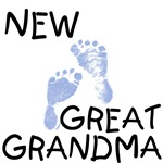 New Great Grandma - Blue