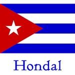 Hondal Cuban Flag