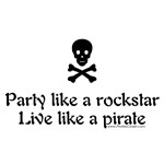 Partying Pirates Designs